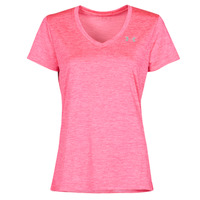 textil Dam T-shirts Under Armour TECH SSV Rosa