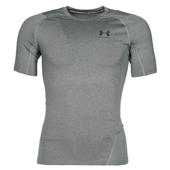 textil Herr T-shirts Under Armour UA HG ARMOUR COMP SS Grå