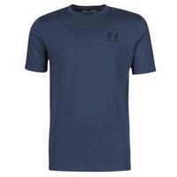 textil Herr T-shirts Under Armour UA SPORTSTYLE LC SS Blå