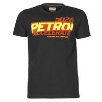 textil Herr T-shirts Petrol Industries T-SHIRT SS R-NECK F Svart