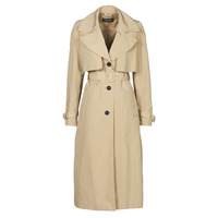 textil Dam Trenchcoats Esprit TRENCH NYLON LNG Beige