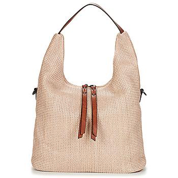 Väskor Dam Handväskor med kort rem Casual Attitude OMAY Beige