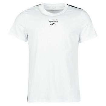textil Herr T-shirts Reebok Classic TE TAPE TEE Vit