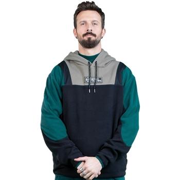 textil Herr Sweatshirts Sergio Tacchini Sweatshirt  Bliss noir/gris/vert