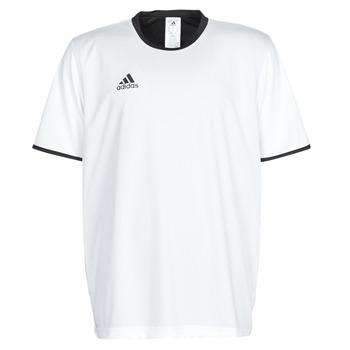 textil Herr T-shirts adidas Performance TAN REV JSY Vit