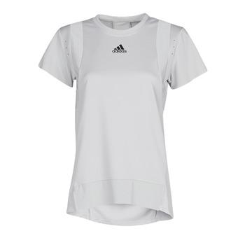 textil Dam T-shirts adidas Performance TRNG TEE H.RDY Grå