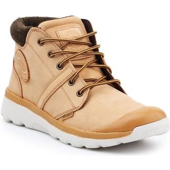 Skor Herr Höga sneakers Palladium Manufacture Pallaville HI Cuff L Beige