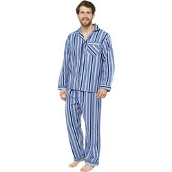 textil Herr Pyjamas/nattlinne Tom Franks  Blå