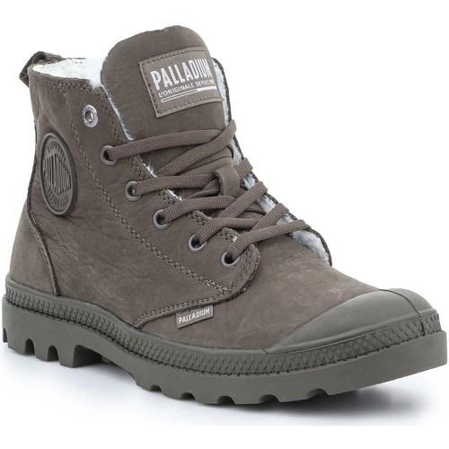 Palladium Pampa Hi Zip WL Leather Schuhe Boots Sneaker gefüttert 95982-176