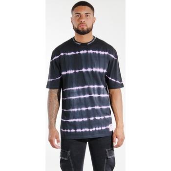 textil Herr T-shirts & Pikétröjor Sixth June T-shirt  Tie & Dye noir/violet