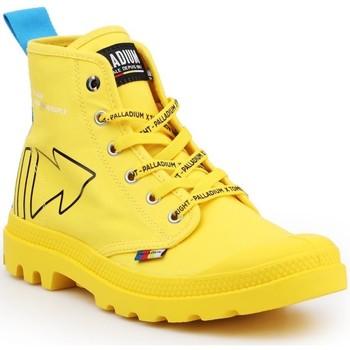 Skor Boots Palladium Manufacture Pampa Dare REW FWD 76862-709-M yellow