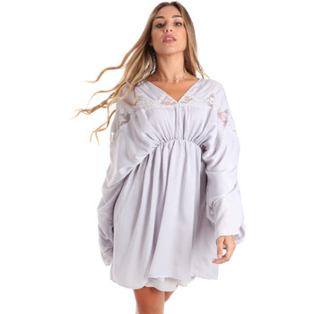 textil Dam Korta klänningar Fracomina FR20SMBARBARA Blå