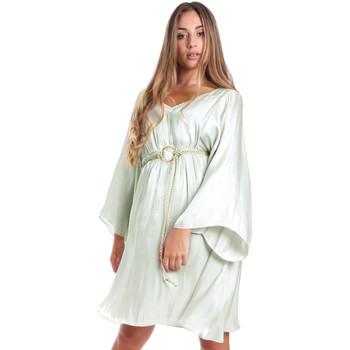 textil Dam Korta klänningar Fracomina FR20SMELISABETH Grön