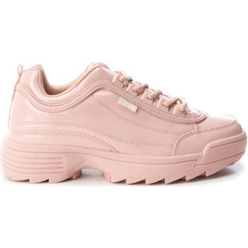 Skor Dam Sneakers Xti 48657 NUDE Rosa