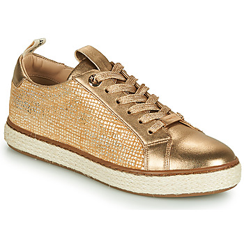 Skor Dam Sneakers JB Martin 1INAYA Guldfärgad