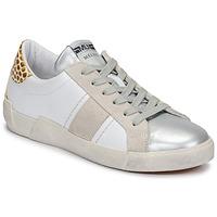 Skor Dam Sneakers Meline NK1381 Vit / Beige
