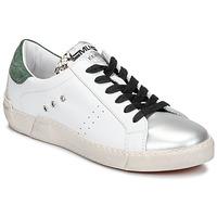 Skor Dam Sneakers Meline NKC1392 Vit / Grön
