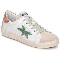 Skor Dam Sneakers Meline NK1364 Vit / Grön