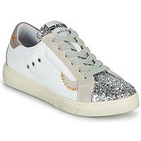 Skor Dam Sneakers Meline CAR139 Vit / Glitter