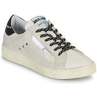Skor Dam Sneakers Meline CAR139 Beige / Svart