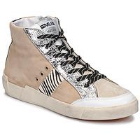 Skor Dam Sneakers Meline NK1384 Beige / Zebra