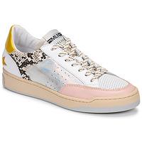 Skor Dam Sneakers Meline BZ180 Vit / Rosa