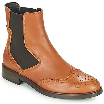 Skor Dam Boots Fericelli CRISTAL Kamel