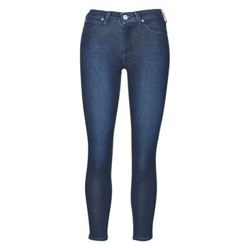textil Dam Skinny Jeans Lee SCARLETT WHEATON Blå