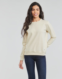 textil Dam Sweatshirts Lee SUSTAINABLE SWS ECRU MELE Vit