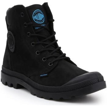 Skor Herr Boots Palladium Manufacture Pampa Cuff WP LUX 73231-001-M black