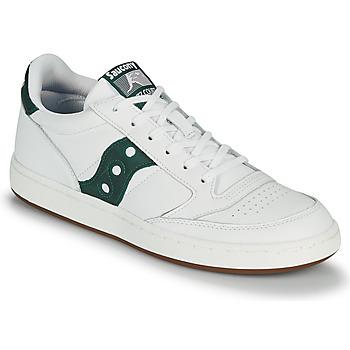 Skor Herr Sneakers Saucony JAZZ COURT Vit / Grön