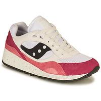 Skor Dam Sneakers Saucony SHADOW 6000 Vit / Rosa