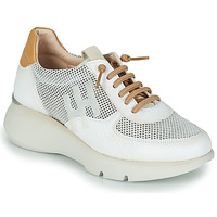 Skor Dam Sneakers Hispanitas TELMA Vit / Guldfärgad