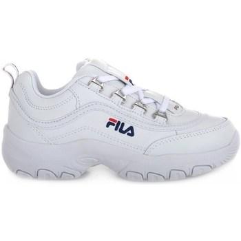 Skor Barn Sneakers Fila Strada Low Junior Vit