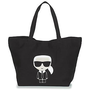 Väskor Dam Shoppingväskor Karl Lagerfeld K/IKONIK KARL TOTE Svart