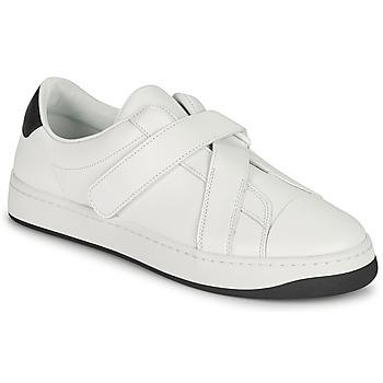 Skor Dam Sneakers Kenzo ENZO KOURT SCRATCH SNEAKERS Vit