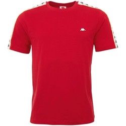 textil Herr T-shirts Kappa Hanno Röda