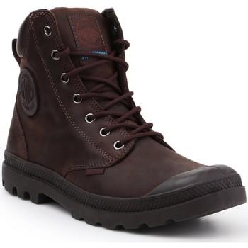 Skor Höga sneakers Palladium Manufacture Pampa Cuff WP LUX 73231-249-M brown