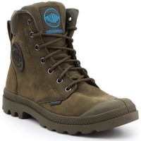 Skor Höga sneakers Palladium Manufacture Pampa Cuff WP LUX 73231309 olive green