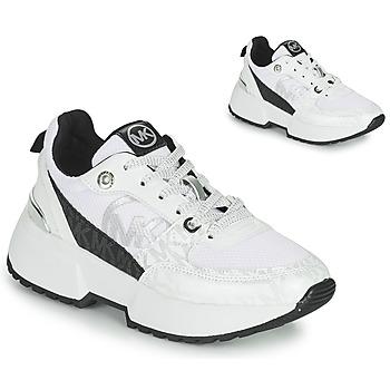 Skor Flickor Sneakers MICHAEL Michael Kors COSMO SPORT Vit / Svart