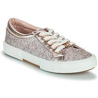 Skor Flickor Sneakers MICHAEL Michael Kors IMA TINSEL Rosa / Guld / Silver