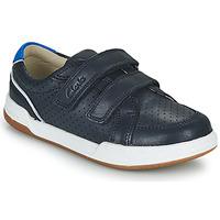 Skor Barn Sneakers Clarks FAWN SOLO K Marin