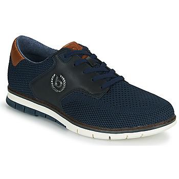 Skor Herr Sneakers Bugatti SANDMAN Marin