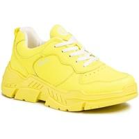Skor Dam Sneakers S.Oliver Neongula plattskor Gul