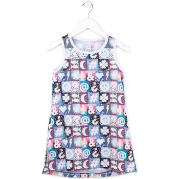 textil Flickor Korta klänningar Losan 714 7001AB Rosa