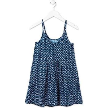 textil Flickor Korta klänningar Losan 714 7017AB Blå