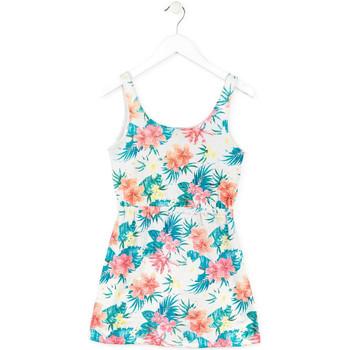 textil Flickor Korta klänningar Losan 714 7041AB Vit