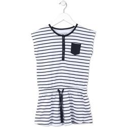 textil Flickor Korta klänningar Losan 714 7044AB Blå