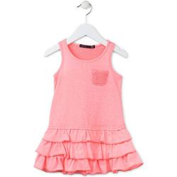 textil Flickor Korta klänningar Losan 716 7009AD Rosa