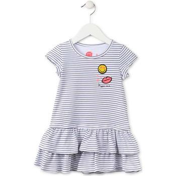 textil Flickor Korta klänningar Losan 716 7065AD Blå